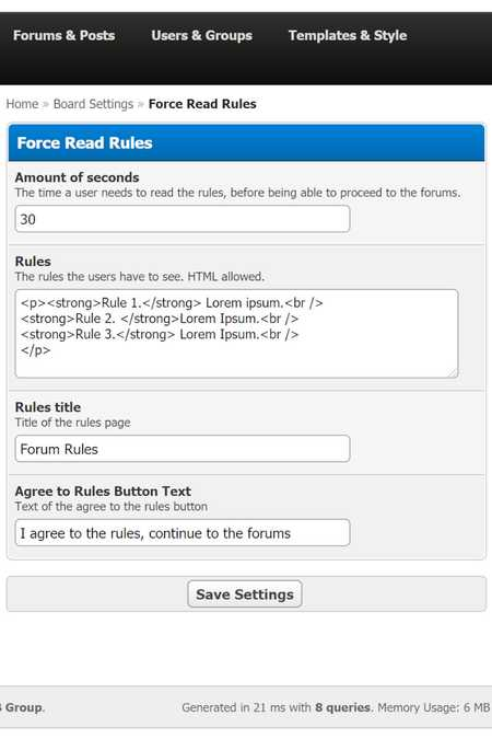 Force Read Rules 2.0.1