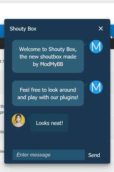 Shouty Box 1.0.1